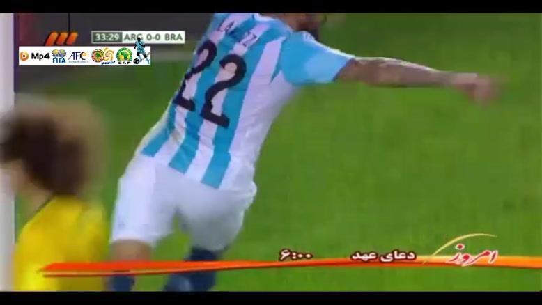 آرژانتین ۱-۱ برزیل
