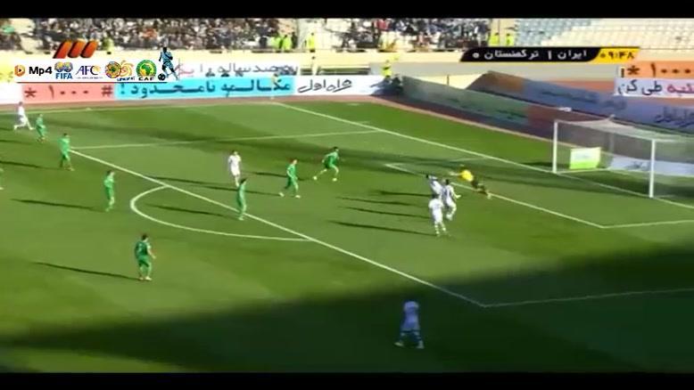 ایران ۳-۱ ترکمنستان
