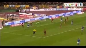 بلژیک ۳-۱ ایتالیا