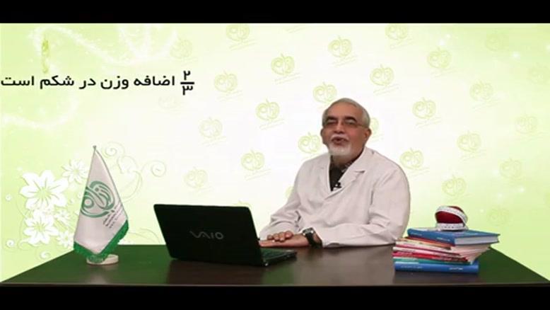دکتر محمد صادق کرمانی - وجود شکم = اضافه وزن