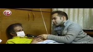 بازیکن پرسپولیس با نخ و سوزن لب و دهانش را دوخت!!!