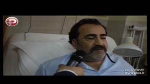 اشک های دروازه بان پرسپولیس روی تخت بیمارستان