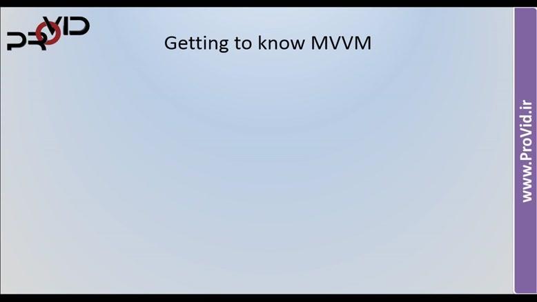آموزش MVVM در WPF . -قسمت پنجم