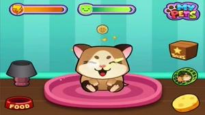 معرفی بازی My Virtual Hamster