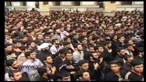 اشکهای رهبر معظم انقلاب در اربعین حسینی