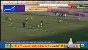 فیلم/ خلاصه دیدار تیم های سپاهان - استقلال خوزستان