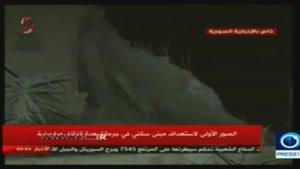 حمله هوایی اسرائیل به حومه دمشق/ شهادت یکی از فرماندهان حزب الله