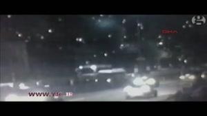 لحظه انفجار در متروی استانبول