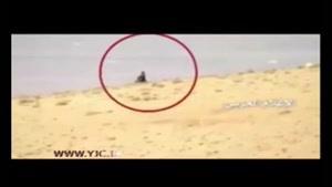 باران گلوله از آسمان و زمین بر سر تروریست های داعش