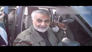 حاج قاسم سلیمانی انگشتریش را به مدافع حرم هدیه داد