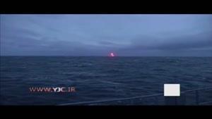 شلیک موشک قاره پیما روسی از زیردریایی کلاس دلفین