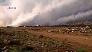 باران موشک بر سر تروریستها