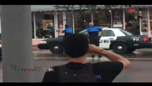 شلیک پلیس آمریکا به مظنون سرقت از بانک