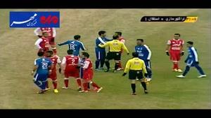 فیلم/ خلاصه دیدار تیم های فوتبال تراکتورسازی - استقلال
