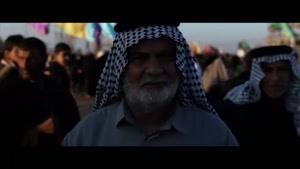 فیلم/ صادق آهنگران «لبیک یا حسین» را خواند