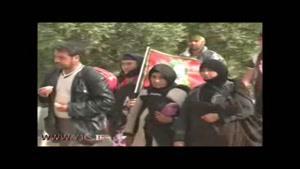 حرکت زائران حسینی به سمت کربلا