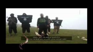 اعدام فجیع ۳ مرد افغانی توسط گروه تروریستی داعش