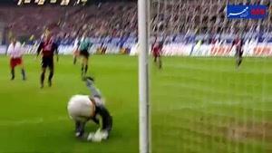 فیلم/ بهترین واکنشهای یکی از اسطورههای دروازهبانی تاریخ فوتبال