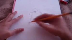 نقاشی جالب رونالدو