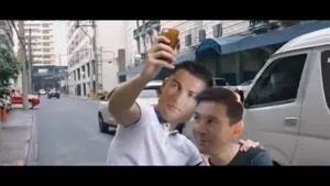 دوستی جالب مسی و رونالدو