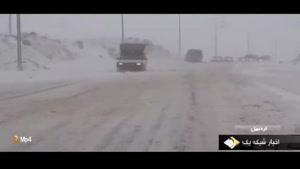 برف پاییزی چهره تهران را زمستانی کرد