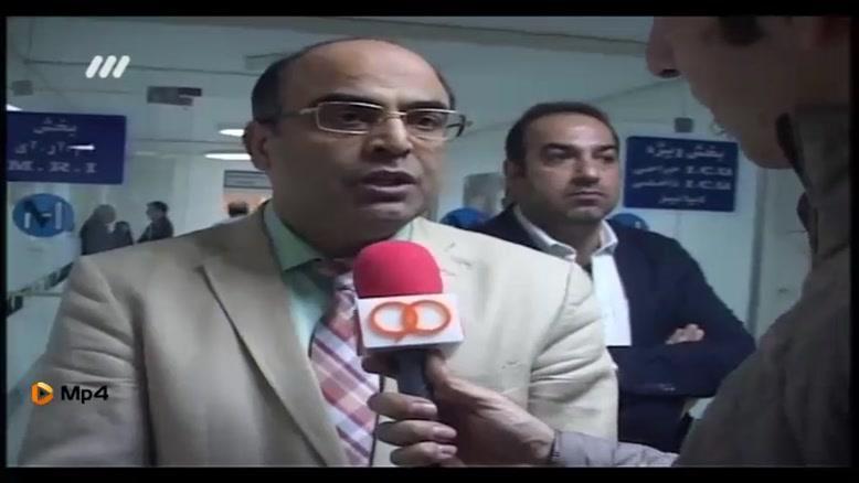 وضعیت عمومی حال منصور پورحیدری