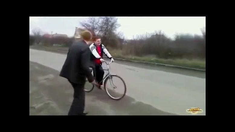 محکم ترین دوچرخه ی جهان !!!!