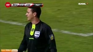 لحظه ی جالب این فوتبالو ببینید !!