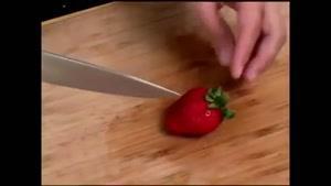 تزئین توت فرنگی