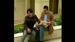 بگو مگوی بین سیامک انصاری و رضا شفیعی جم