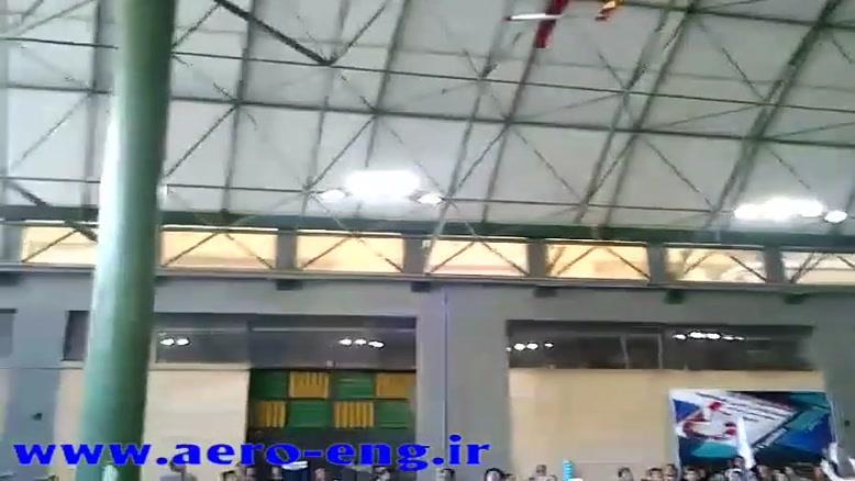 بهترین گلایدر کشور در مسابقات هوافضای امیرکبیر