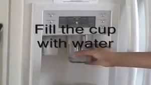اتش زدن آب