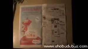 آموزش شعبده بازی غیب کردن CDدر روزنامه