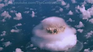 انفجار بزرگ در زیر دریا