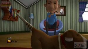 انیمیشن کوتاه پیچ خورده