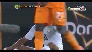 ساحل عاج ۰ - ۰ غنا (پنالتی ۹-۸)
