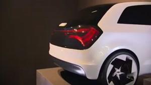 جدید ترین طرح چراغ خطر ماشین از شرکت آودی