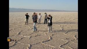 دریاچه ی نمک حوض سلطان در نزدیکی قم