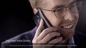 تیزر تبلیغاتی گوشی خمیده LG G Flex ۲