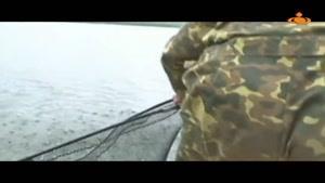بوسه پوتین بر ماهی که خود صیدش کرد!