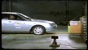 تست تصادف پوروتونProton Waja_Impian Euro NCAP