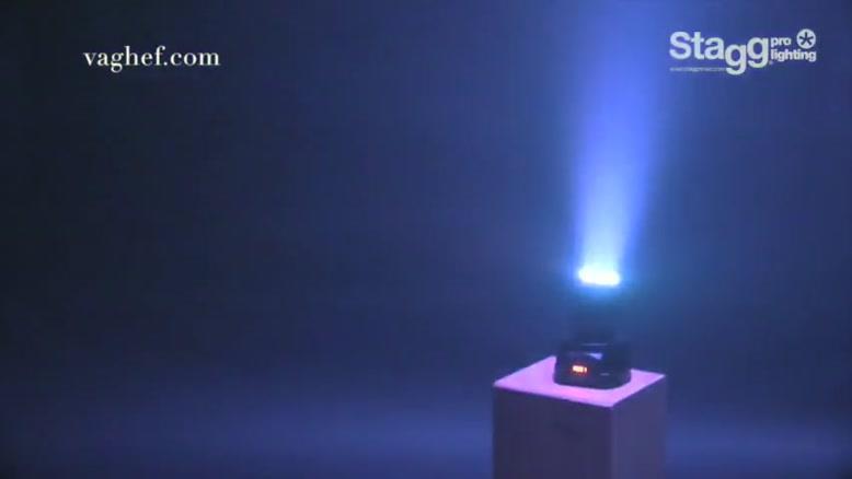 تجهیزات نورپردازی حرفهای Stagg : مدل HeadBanger۱۰