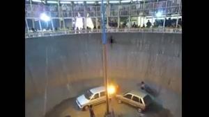 موتور دیوار مرگ پارک ارم