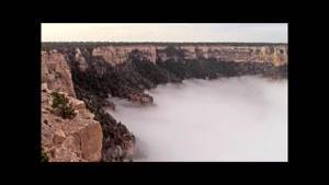کوهستان مه آلود