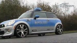 مینی کوپر پلیس