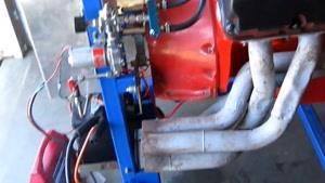 تست موتور ۵۲۸ همی HEMI آمریکایی