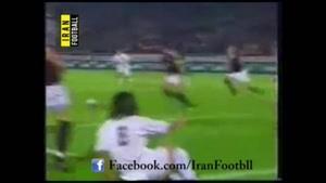 علی کریمی در مقابل آلمان