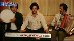 رقصیدن اکبر عبدی در شام ایرانی