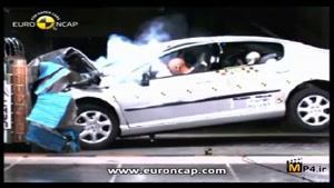 تست تصادف پژو ۴۰۷