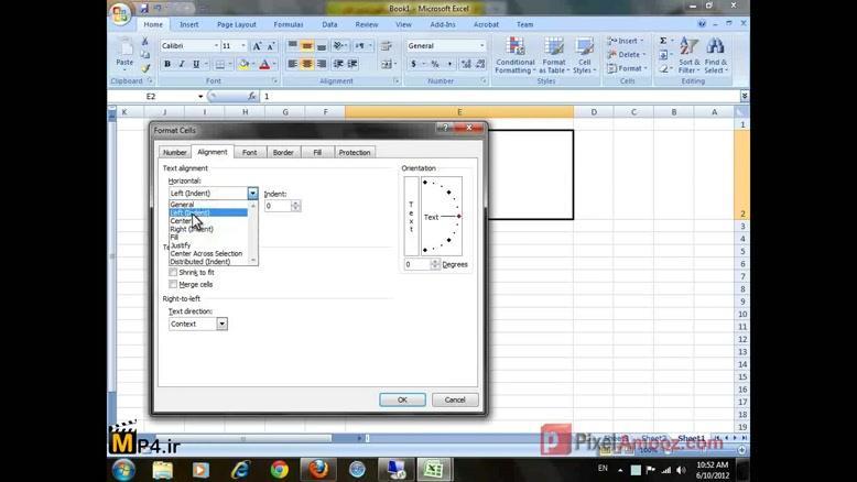 فیلم آموزشی Excel جلسه ۹